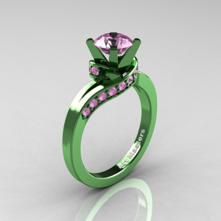 Classic-14K-Green-Gold-1-0-Ct-Light-Pink-Sapphire-Designer-Solitaire-Ring-14KSGGLPS-P