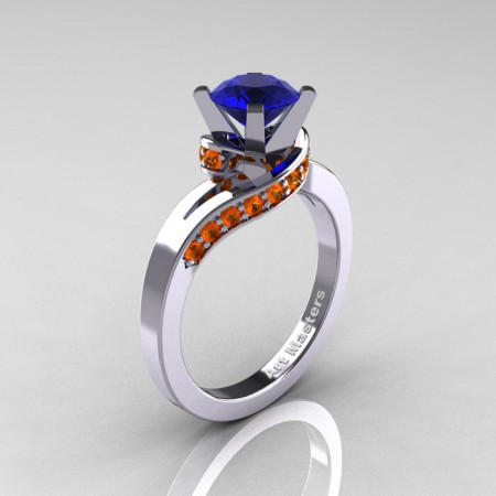 Classic-14K-White-Gold-1-0-Ct-Blue-and-Orange-Sapphire-Designer-Solitaire-Ring-14KWGOSBS-P