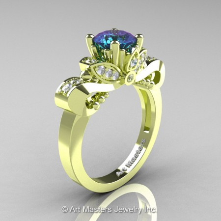 Classic-18K-Green-Gold-1-Carat-Alexandrite-Diamond-Solitaire-Engagement-Ring-R323-14KGGDAL-P