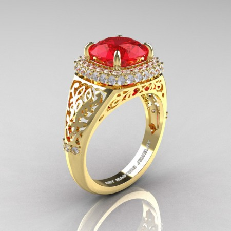 Modern-Baroque-14K-Yellow-Gold-3-0-Ct-Ruby-Diamond-Wedding-Ring-R407-14KYGDR-P