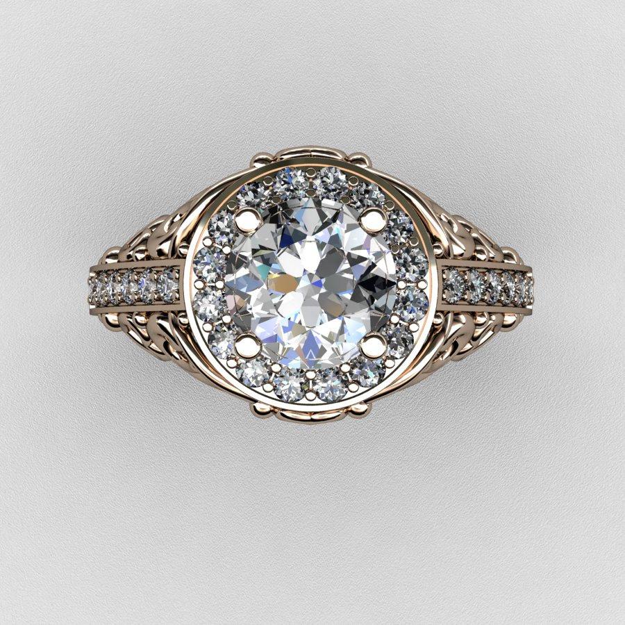 Cubic Zirconia Diamond Wedding Rings