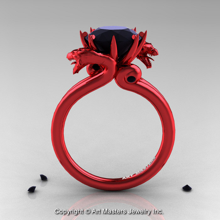 diamond cute carat ksvhs ring engagement red wedding jewellery rings