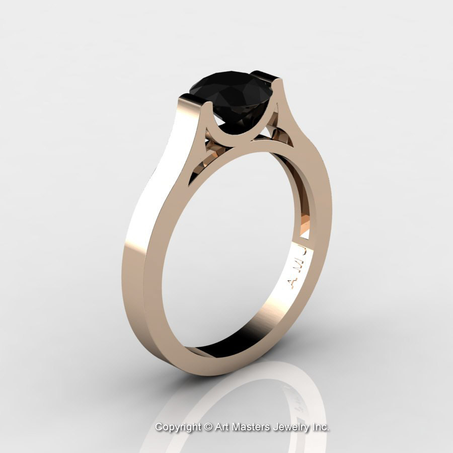 solitaire ring rings amp modern oro vow beautiful engagement popular vrai of wedding