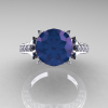 Classic-French-14K-White-Gold-Alexandrite-Diamond-Solitaire-Wedding-Ring-R401-14KWGDAL-T