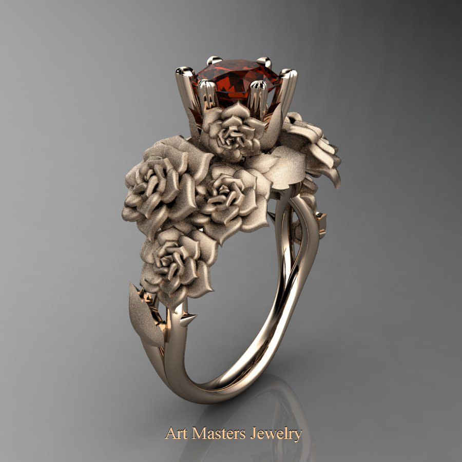 renaissance fullxfull orange s bandwomen style il engagement au gold ring zoom blossom rings listing