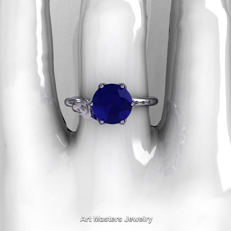 progressive carat tw sterling cocktail peo products silver ring lab ct blue halo sapphire created