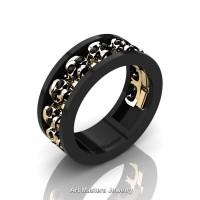onyx product categories art masters jewelry - Black Onyx Wedding Ring