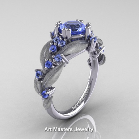 Nature-Classic-14K-White-Gold-1-0-Ct-Light-Blue-Sapphire-Leaf-and-Vine-Engagement-Ring-R340S-14KWGLBS-P