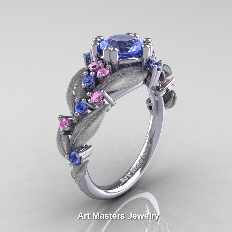 engagement gold ct rose nature white product ring vine rings sapphire p wedding diamond inspired