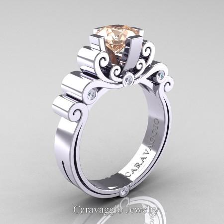 Caravaggio-14K-White-Gold-1-25-Carat-Morganite-Diamond-Engagement-Ring-R639-14KWGDMO-P