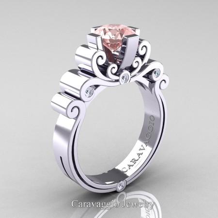Caravaggio-14K-White-Gold-1-25-Carat-Pink-Morganite-Diamond-Engagement-Ring-R639-14KWGDPMO-P