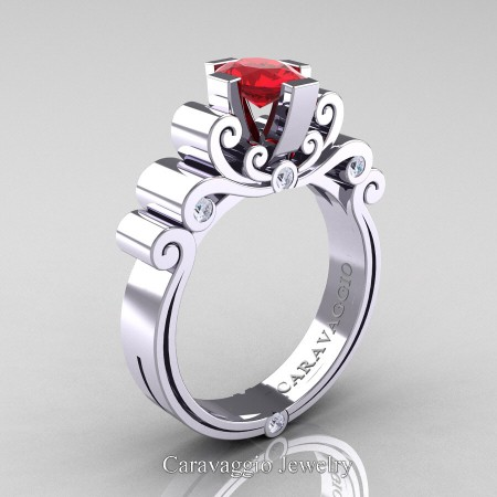 Caravaggio-14K-White-Gold-1-Carat-Oval-Ruby-and-White-Diamond-Engagement-Ring-R639O-14KWGDR-P