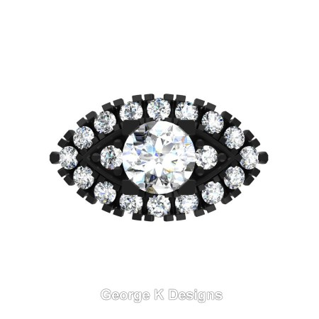 Classic-French-14K-Black-Gold-1-Carat-White-Sapphire-Diamond-Marquise-Halo-Engagement-Ring-R409-14KBGDWS-T