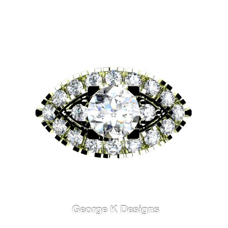 Classic-French-18K-Green-Gold-1-Carat-White-Sapphire-Diamond-Marquise-Halo-Engagement-Ring-R409-18KGGDWS-T