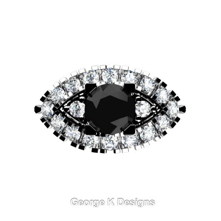Classic-French-950-Platinum-1-Carat-Black-and-White-Diamond-Marquise-Halo-Engagement-Ring-R409-PLATDBD-T