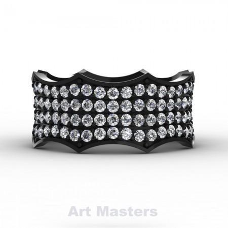 Winterfell-14K-Black-Gold-100-Diamond-Gothic-Eternity-Crown-Ring-R725A-14KBGD-P