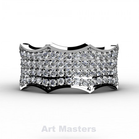 Winterfell-14K-White-Gold-100-Diamond-Gothic-Eternity-Crown-Ring-R725A-14KWGD-P