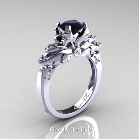 Classic-Angel-950-Platinum-1-Ct-Black-and-White-Diamond-Solitaire-Engagement-RIng-R482-PLATDBD-P