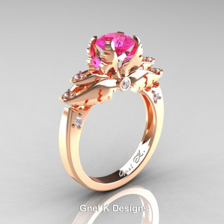 Classic-Angel-Rose-Gold-1-Ct-Pink-Sapphire-Diamond-Solitaire-Engagement-RIng-R482-YGDPS-P