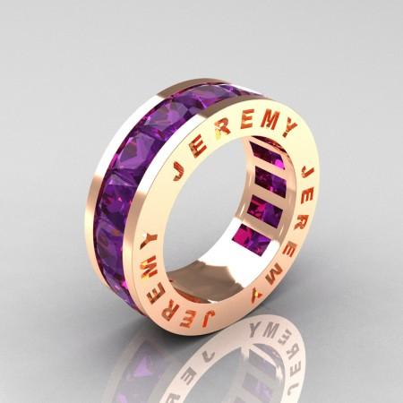Jeremy-Modern-14K-Rose-Gold-Princess-Amethyst-Channel-Cluster-Mens-Wedding-Band-R374M-14KRGAM-P