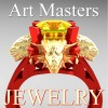 Victorian-14K-Red-Yellow-Gold-3-0-Carat-Asscher-Cut-Yellow-Sapphire-Dragon-Engagement-Ring-R865-14KREYGYS-F2