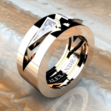 Alexandra-Jewelry-Mens-Avant-Garde-14K-Rose-Gold-Triangle-Diamond-Apollo-Wedding-Ring-A1011-14KRGCHD-P4