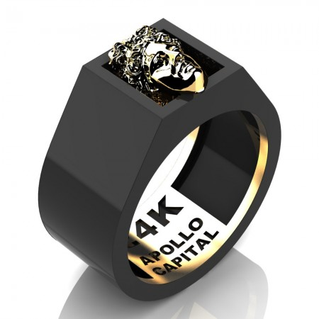 Apollo-Reserve-24K-Two-Tone-Black-Gold-Mens-Ring-R2400-24KYBG-PERS