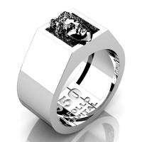 Apollo Mens 950 Platinum Ring R950-PLAT