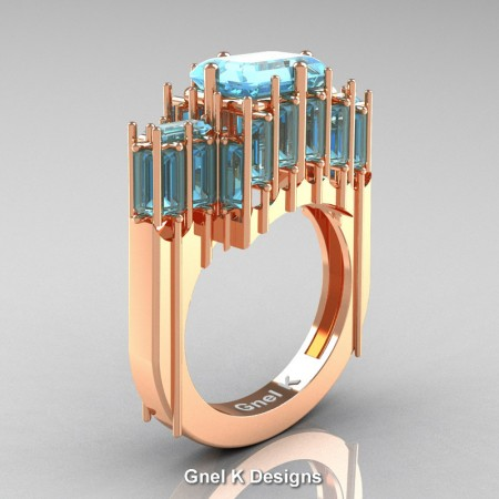 Avant-Garde-14K-Rose-Gold-Emerald-and-Baguette-Aquamarine-Cathedral-Wedding-Ring-R424-14KRGAQ-P