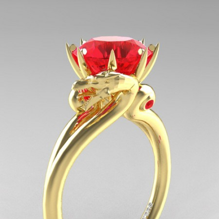 Art-Masters-Jewelry-14K-Yellow-Gold-3-Carat-Ruby-Dragon-Engagement-Ring-R601-14KYGR-P