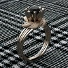 Nature-Inspired-14K-Rose-Gold-1-0-Ct Black-Diamond-Leaf-and-Vine-Engagement-Ring-R440-14KRGSBD