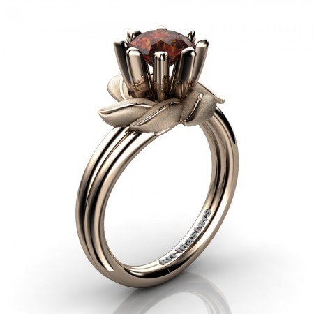Nature-Inspired-14K-Rose-Gold-1-0-Ct-Brown-Diamond-Leaf-and-Vine-Engagement-Ring-R440-14KRGBRD-P