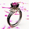 Nature-Inspired-14K-Rose-Gold-1-0-Ct-Pink-Sapphire-Leaf-and-Vine-Engagement-Ring-R440-14KRGSPS-P3