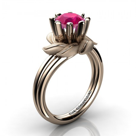 Nature-Inspired-14K-Rose-Gold-1-0-Ct-Ruby-Leaf-and-Vine-Arpine-Engagement-Ring-R440-14KRGSR-P