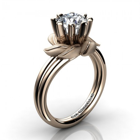 Nature-Inspired-14K-Rose-Gold-1-0-Ct-White-Sapphire-Leaf-and-Vine-Arpine-Engagement-Ring-R440-14KRGSWS-P2