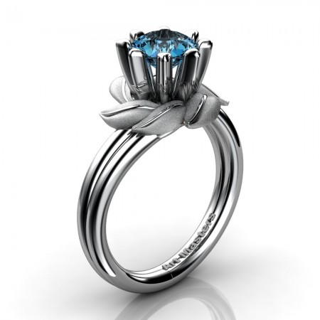 Nature-Inspired-14K-White-Gold-1-0-Ct-Blue-Topaz-Leaf-and-Vine-Engagement-Ring-R440-14KWGSBT-P20