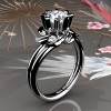 Nature-Inspired-14K-White-Gold-1-0-Ct-Diamond-Leaf-and-Vine-Engagement-Ring-R440-14KWGD-P
