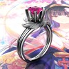 Nature-Inspired-14K-White-Gold-1-0-Ct-Pink-Sapphire-Leaf-and-Vine-Engagement-Ring-R440-14KWGSPS-Jewelry