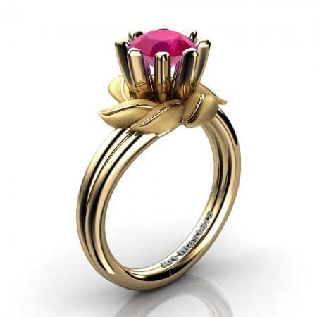 Nature-Inspired-14K-Yellow-Gold-1-0-Ct-Ruby-Leaf-and-Vine-Arpine-Engagement-Ring-R440-14KYGSR-P